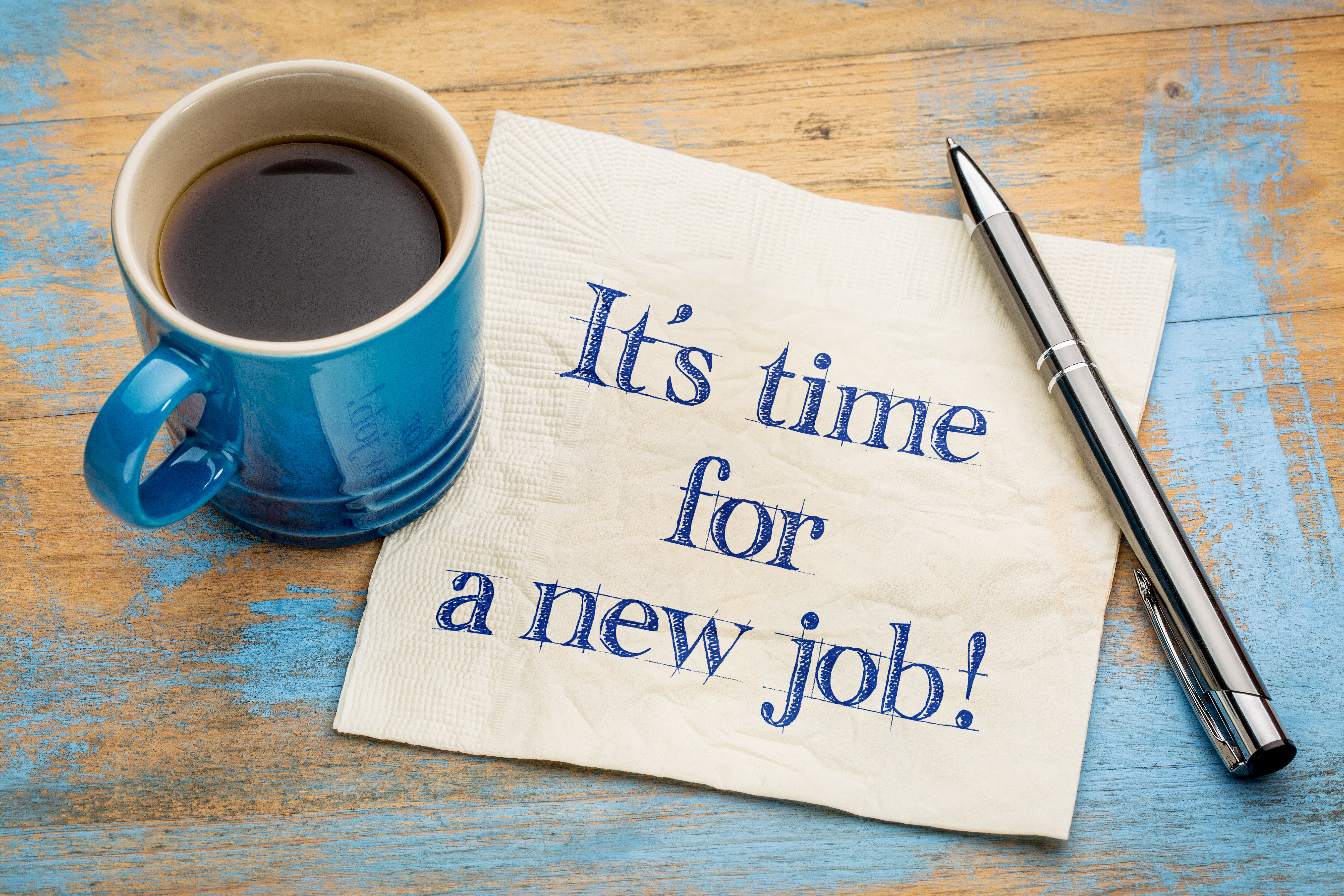 It is time for a new job!