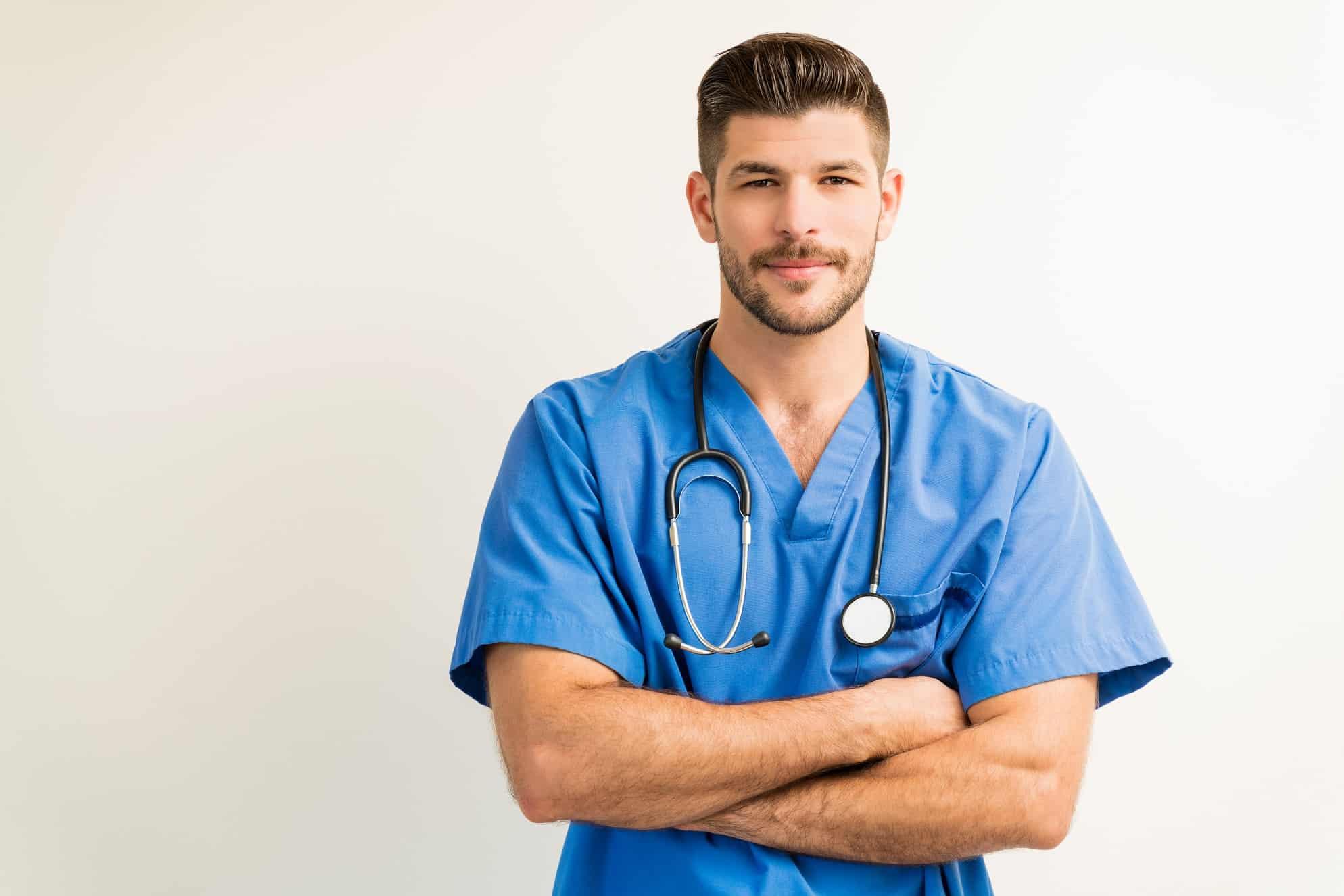 male nurse umbrella company contractor in UK
